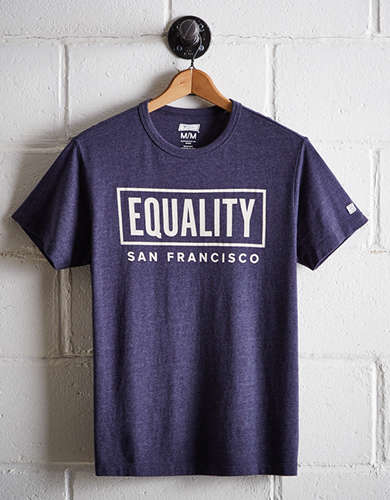 Tailgate Men's San Francisco Equality T-Shirt - Free Returns