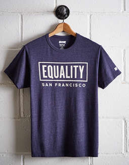 Tailgate Men's San Francisco Equality T-Shirt