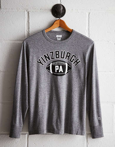 Tailgate Men's Yinzburgh Long Sleeve Tee - Free returns