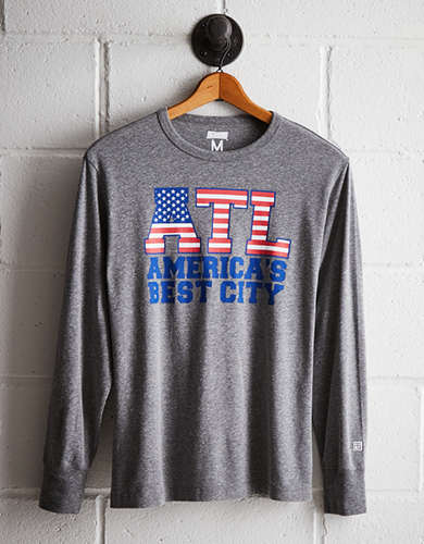 Tailgate Men's ATL Best City Long Sleeve Tee -