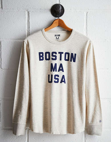 Tailgate Men's Boston Mass Thermal Shirt - Free returns
