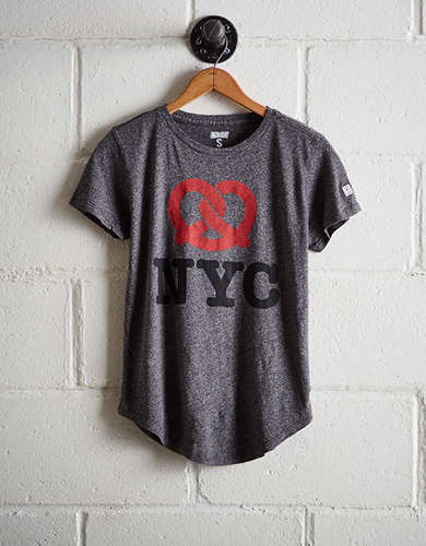Tailgate Women's NYC Pretzel T-Shirt - Free Returns
