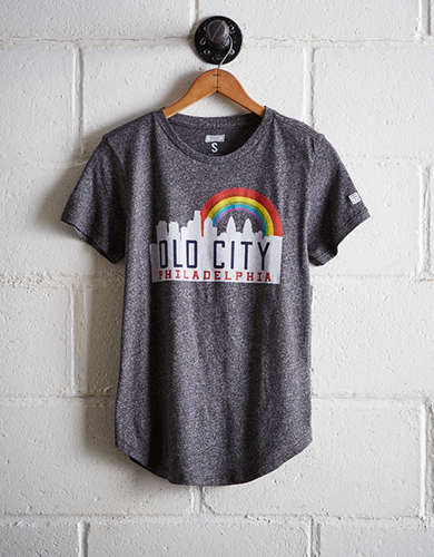Tailgate Women's Philadelphia Old City T-Shirt -