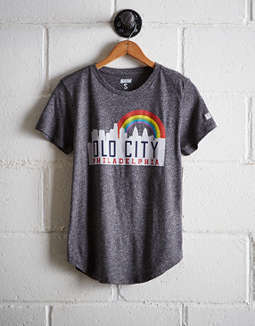 Tailgate Women's Philadelphia Old City T-Shirt