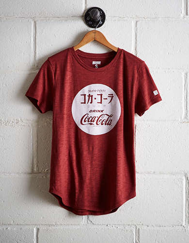 Tailgate Women's Coca-Cola T-Shirt - Free Returns