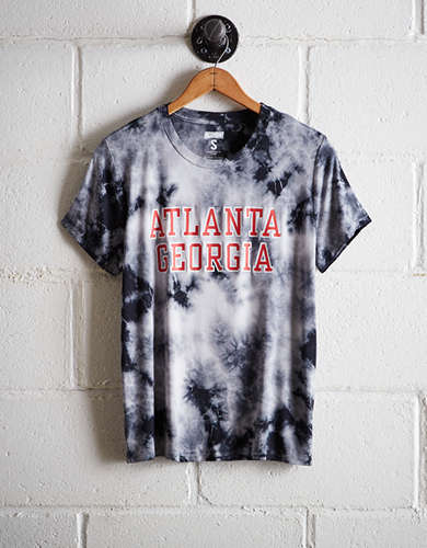 Tailgate Women's Atlanta Tie-Dye T-Shirt - Free Returns