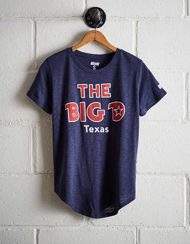 Tailgate Women's The Big D T-Shirt - Free Returns