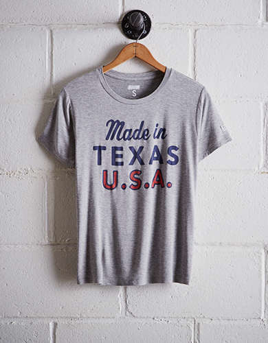 Tailgate Women's Dallas Texas Boyfriend Tee - Free Returns