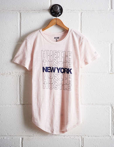 Tailgate Women's New York Hustle T-Shirt - Free Returns