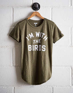 Tailgate Women's I'm With The Birds T-Shirt