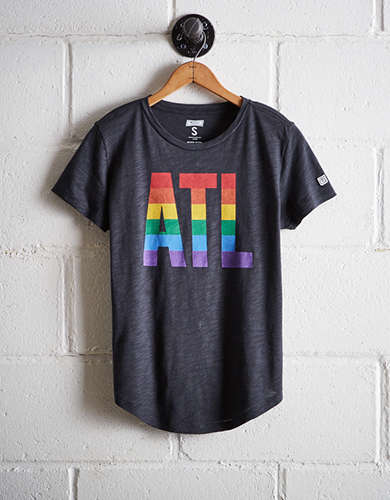 Tailgate Women's ATL Rainbow T-Shirt - Free Returns