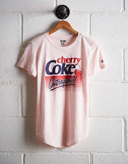 6d6959f712 placeholder image Tailgate Women's Cherry Coke T-Shirt