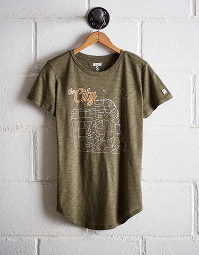 Tailgate Women's The City Map T-Shirt - Free Returns
