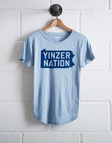 Tailgate Women's Pittsburgh Yinzer Nation T-Shirt -