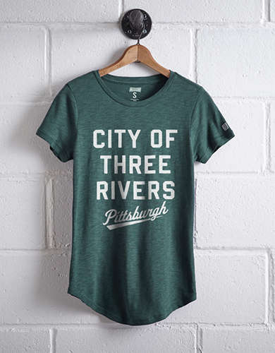 Tailgate Women's City of Three Rivers T-Shirt -