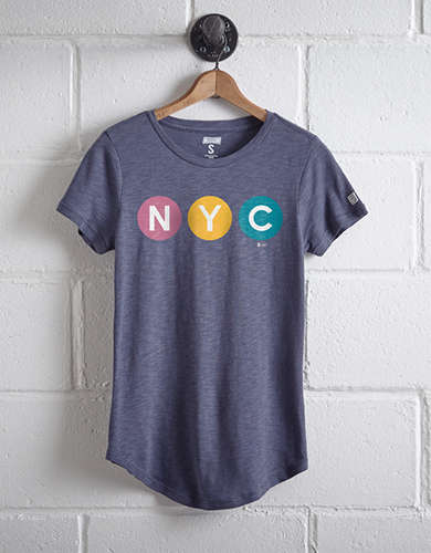 Tailgate Women's NYC MTA T-Shirt -