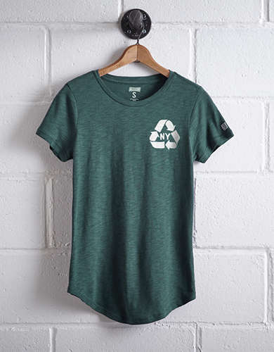Tailgate Women's NYC Recycle T-Shirt -