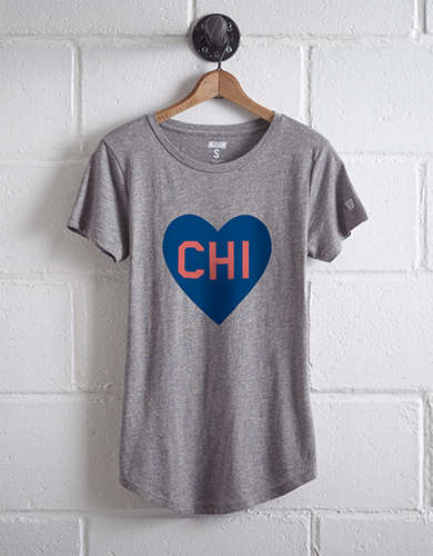 Tailgate Women's Chicago Heart T-Shirt -