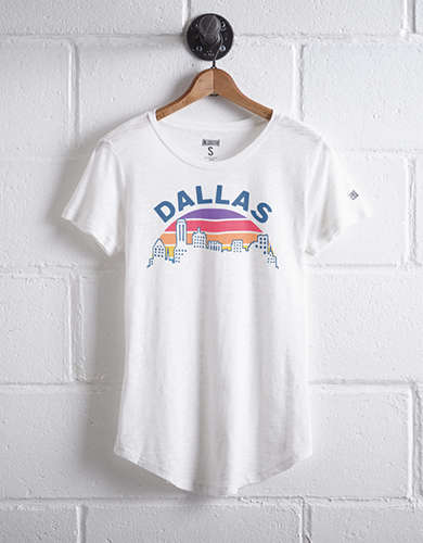 Tailgate Women's Dallas Sunset T-Shirt -