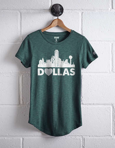 Tailgate Women's Dallas Skyline T-Shirt -