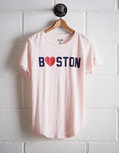 Tailgate Women's Boston Heart T-Shirt - Free Returns