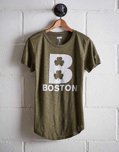 Tailgate Women's Boston Clover T-Shirt - Free Returns