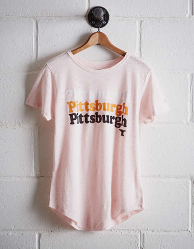 Tailgate Women's Pittsburgh Steel City T-Shirt - Free Returns