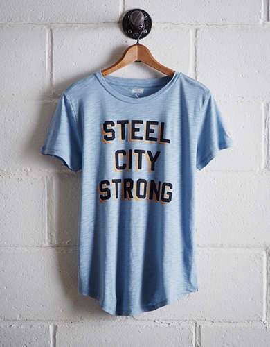Tailgate Women's Steel City Strong T-Shirt - Free Returns