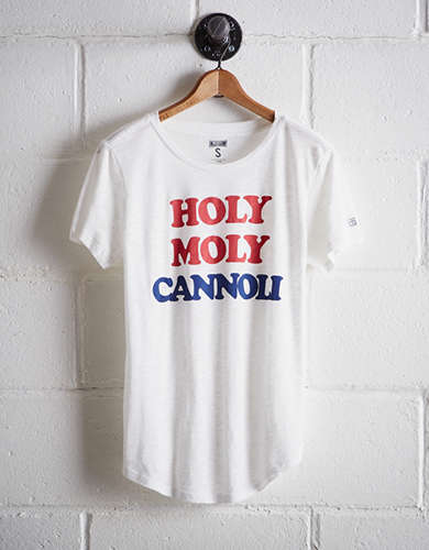 Tailgate Women's Holy Moly Cannoli T-Shirt - Free Returns