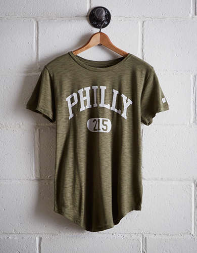 Tailgate Women's Philly 215 T-Shirt - Free Returns