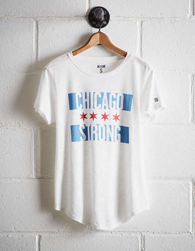 Tailgate Women's Chicago Strong T-Shirt - Free Returns