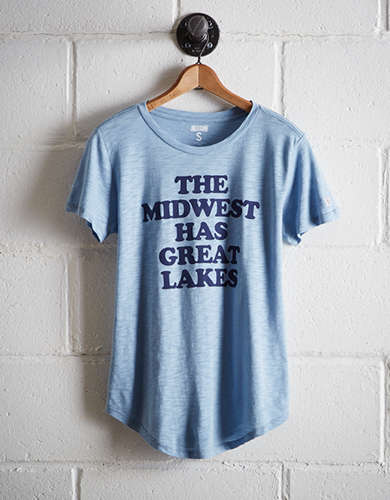 Tailgate Women's Chicago Great Lakes T-Shirt - Free Returns