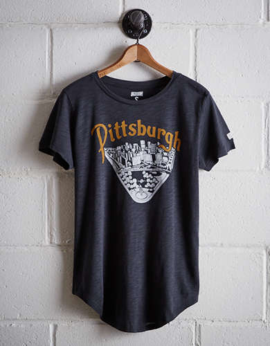Tailgate Women's Downtown Pittsburgh T-Shirt - Free Returns