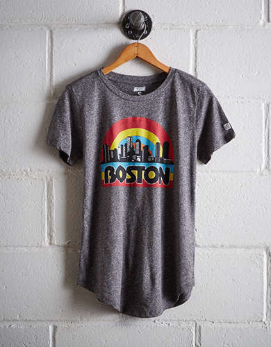 Tailgate Women's Boston Skyline T-Shirt - Buy 2 Tops Get 1 Free