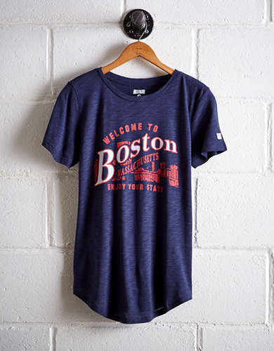 Tailgate Women's Boston Welcome T-Shirt - Free Shipping + Free Returns