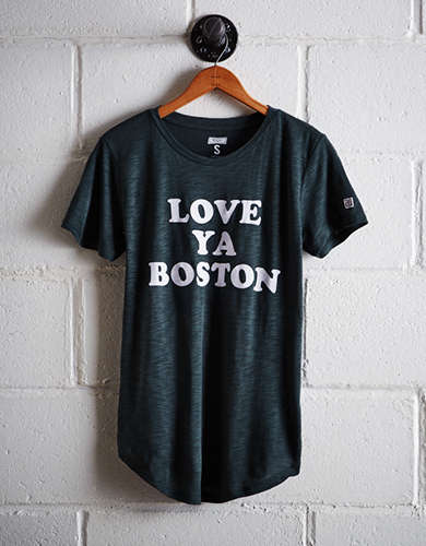 Tailgate Women's Love Ya Boston T-Shirt - Free Shipping + Free Returns