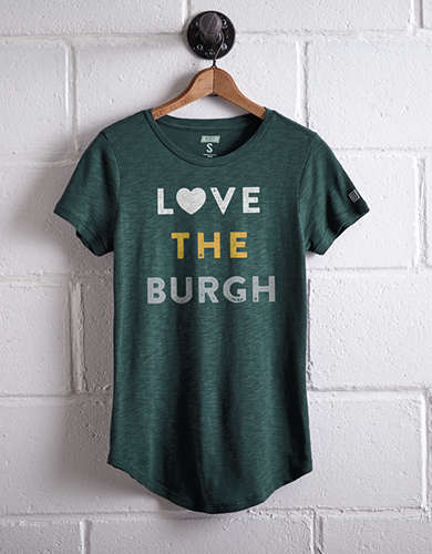 Tailgate Women's Love The Burgh T-Shirt - Buy 2 Tops Get 1 Free