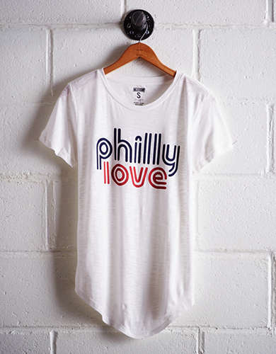 Tailgate Women's Philly Love T-Shirt - Buy 2 Tops Get 1 Free