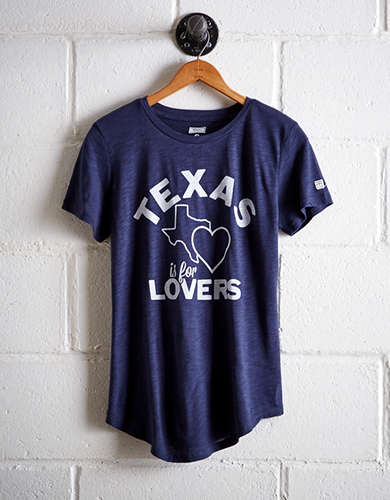 Tailgate Women's Texas Is For Lovers T-Shirt - Free returns
