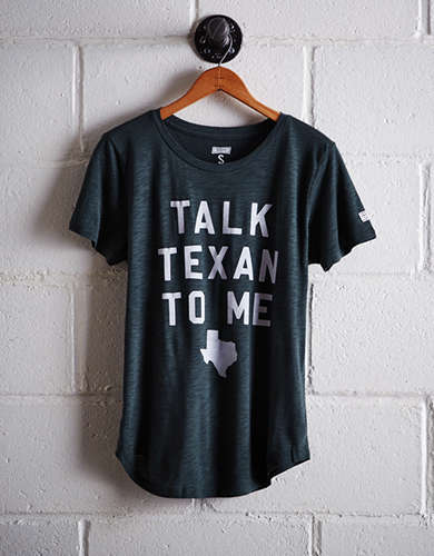 Tailgate Women's Talk Texan To Me T-Shirt - Free Shipping + Free Returns