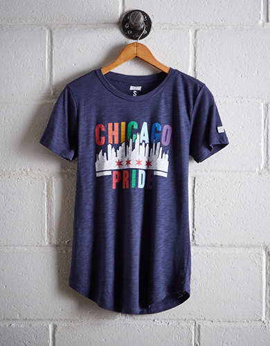 Tailgate Women's Chicago Pride T-Shirt - Buy 2 Tops Get 1 Free