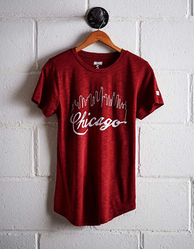 Tailgate Women's Chicago Skyline T-Shirt - Buy 2 Tops Get 1 Free
