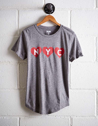 Tailgate Women's NYC In Hearts - Buy 2 Tops Get 1 Free