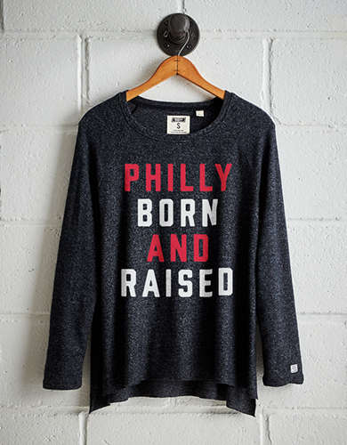 Tailgate Women's Philly Born Plush Tee - Buy One Get One 50% Off