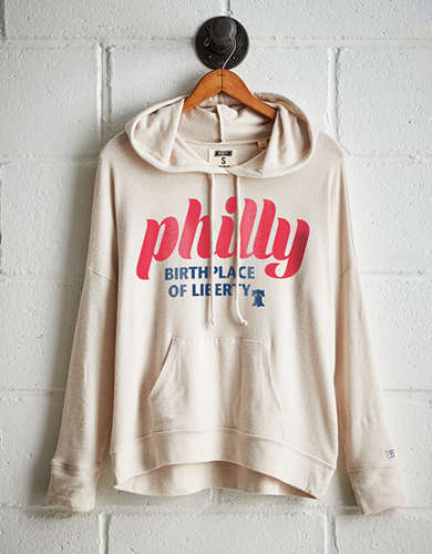 Tailgate Women's Philly Liberty Plush Hoodie -