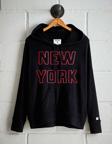 Tailgate Women's New York Plush Hoodie - Free Returns