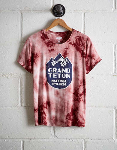 Tailgate Women's Grand Teton Tie-Dye T-Shirt - Free Returns