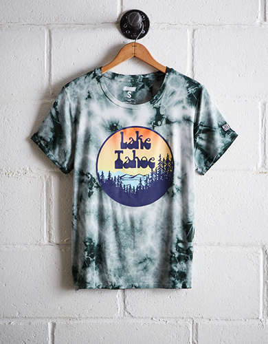 Tailgate Women's Lake Tahoe Tie-Dye T-Shirt - Free Returns