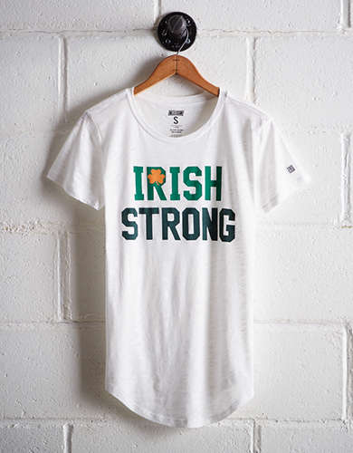 Tailgate Women's Irish Strong T-Shirt -