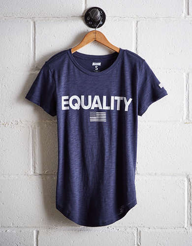 Tailgate Women's Equality T-Shirt - Free Returns